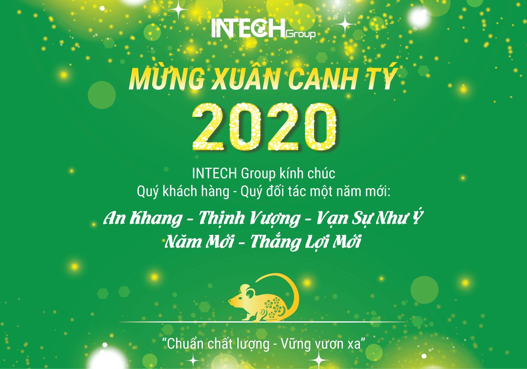 INTECH - CHÚC MỪNG NĂM MỚI 2020