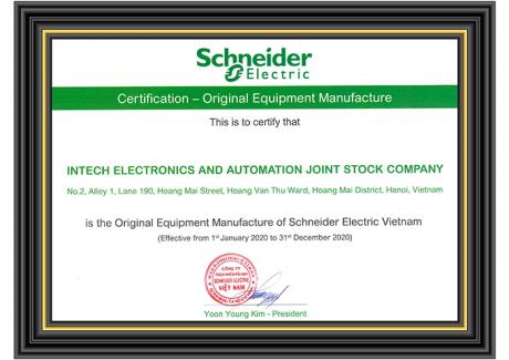 INTECH E&A - nhà sản xuất thiết bị gốc của Schneider