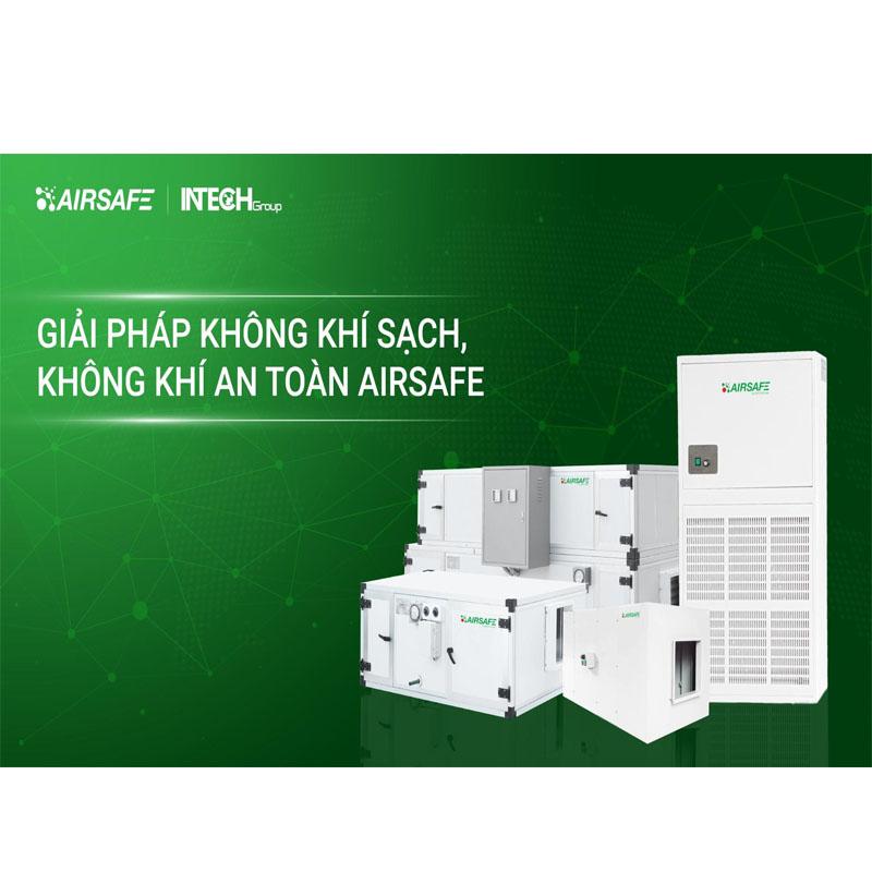 INTECH Group đã ra mắt Giải pháp không khí sạch, không khí an toàn AIRSAFE