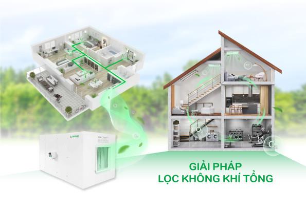 Ấn tượng với giải pháp lọc không khí tổng Airsafe tại Triển lãm Vietbuild 2021