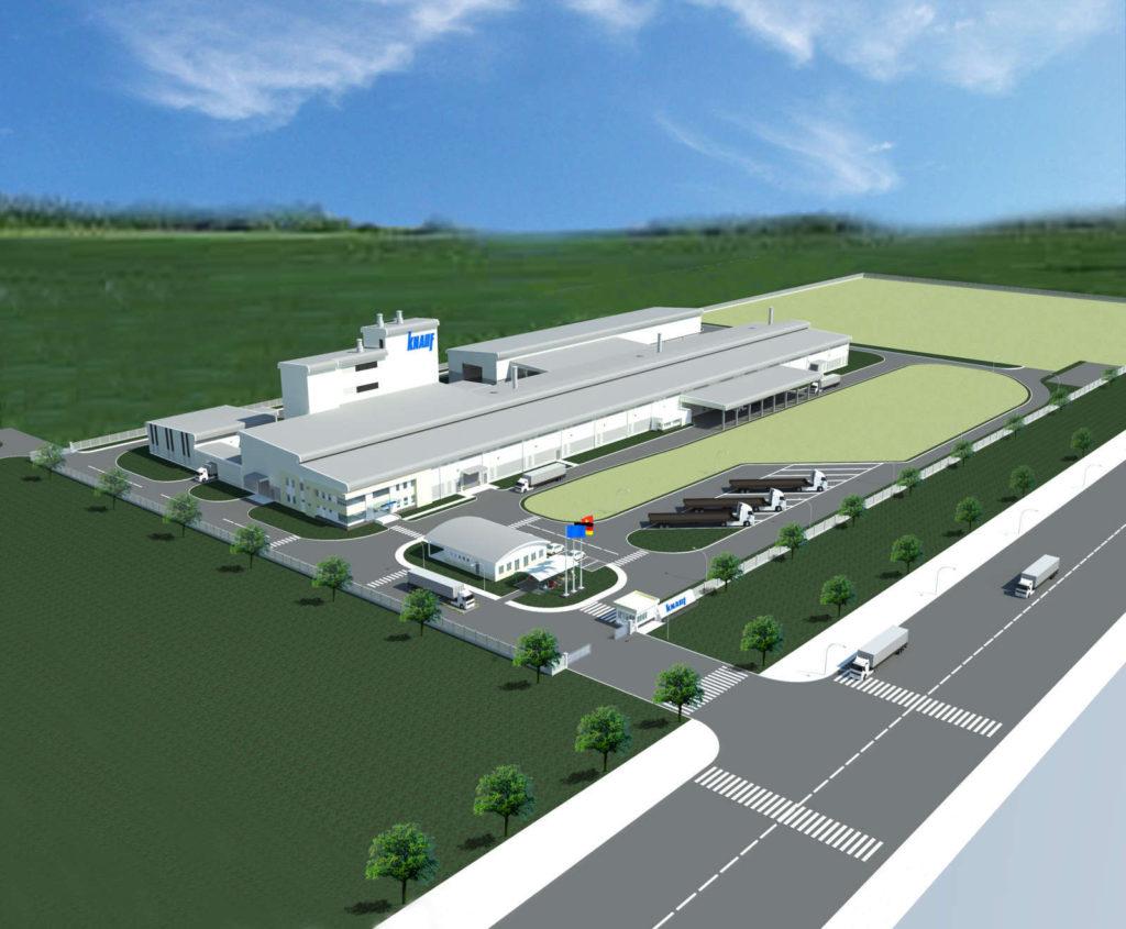 Nhà máy KNAUF (Đức)