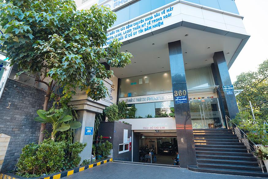 Bệnh viện mắt Cao Phương Nam
