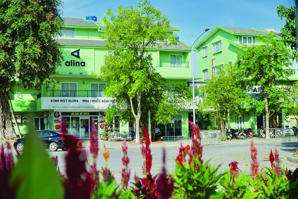 Bệnh viện mắt Alina